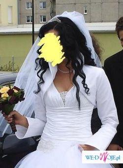 Piękne bolerko ślubne, OKAZJA!!!