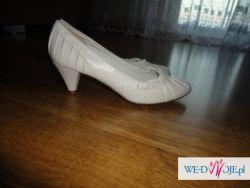 Piękne buty ślubne