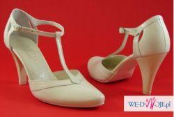Piękne buty ślubne Kotyl