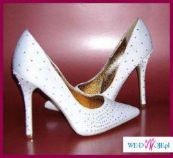Piękne buty ślubne rozmiar 38