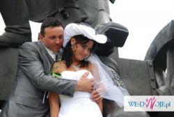 piękny kapelusz ślubny