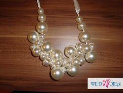 Piękny perłowy naszyjnik