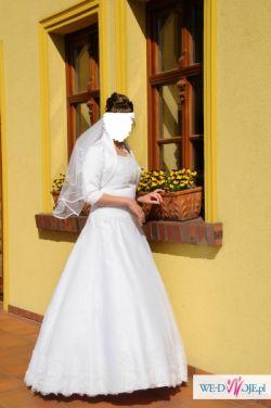 Pilne, suknia ślubna