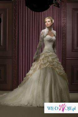 Pilnie kupię suknię Demetrios 2806 w kolorze ivory rozmiar 40