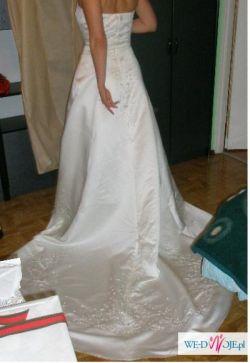 PILNIE sprzedam wyjątkową suknie ślubną