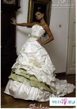 Pilnie!!! suknia emmi mariage model Dafne z zielenia