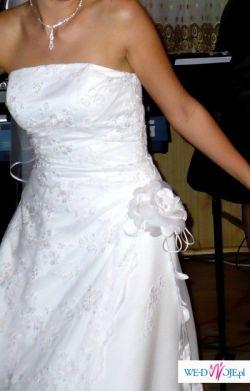 Po prostu piekna suknia ślubna