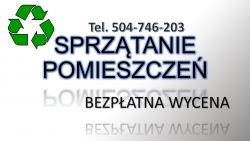 Posprzątanie pomieszczenia, cena, Wrocław, tel. 504-746-203. Firma sprzątająca.