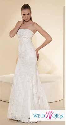Prepiękna suknia White One model 427 z kolekcji hiszpańskiej, Madonna