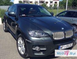 Prestiżowe BMW X6 do ślubu