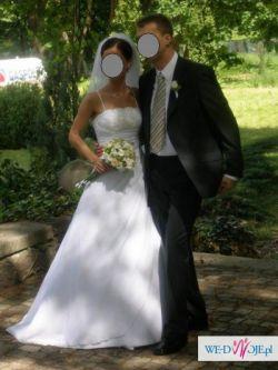 PRONOVIAS - Elegancka suknia ślubna. Rozm. 36/38