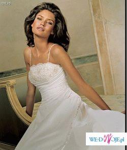 PRONOVIAS! Elegancka suknia ślubna. Rozm. 36