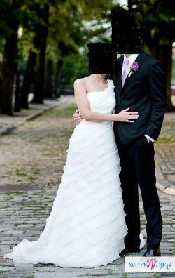 Pronovias Fragrancia -piękna suknia ślubna