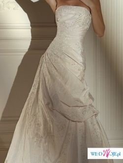 Pronovias, model Nepal, suknia prosto z Hiszpanii