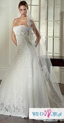 Pronovias Nalon: przepiękna hiszpańska suknia!