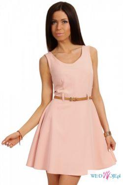 0229bfc053d0 Prosta Rozkloszowana Sukienka elegancka - Odzież damska - Ogłoszenie ...