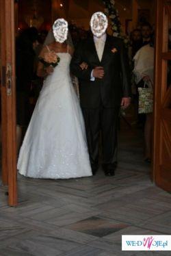 Przeoiękna suknia ślubna