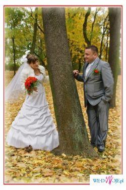 Przepiękan suknia ślubna!!!