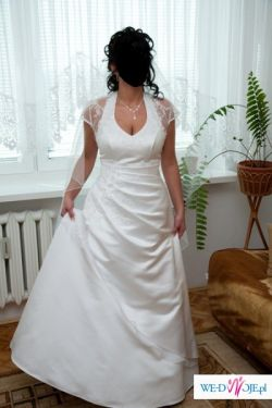 Przepiękna biała suknia ślubna 38/42