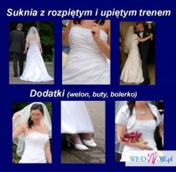 Przepiekna biała suknia ślubna Maggie Sottero YARA