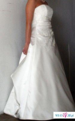 Przepiękna francuska suknia ślubna