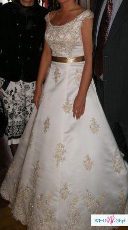 Przepiękna francuska suknia TESSLA taniooo!