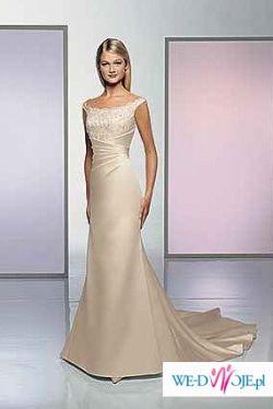 Przepiękna hiszpańska suknia ATELIER DIAGONAL model 429