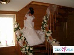 Przepiękna, hiszpańska suknia ślubna!