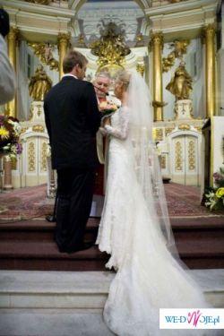 Przepiękna hiszpańska suknia ślubna-Rondalla St. Patrick