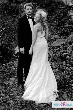 Przepiękna i bardzo elegancka suknia ślubna