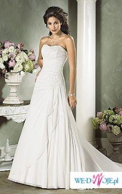 Przepiękna i elegancka suknia - JAK NOWA!!!!!