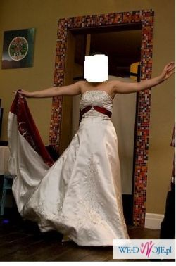 Przepiekna, oryginalna suknia ślubna