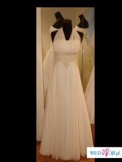 Przepiekna, oryginalna suknia slubna