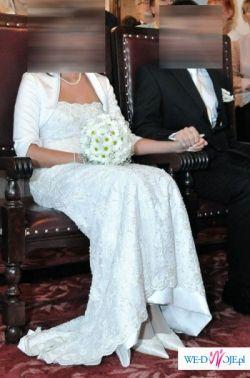 Przepiękna romantyczna suknia ślubna
