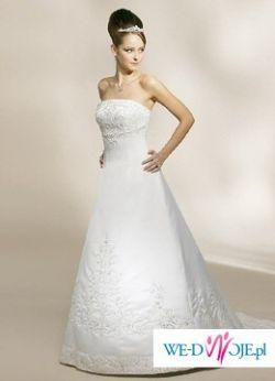 Przepiękna sknia ślubna