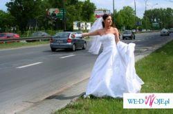 przepiekna sukinia ślubna