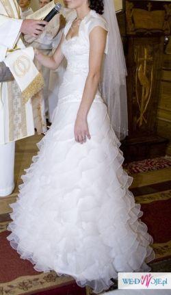Przepiękna suknia Annais Bridal model Carrera:)