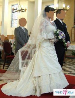 Przepiękna suknia Cymbeline Racine