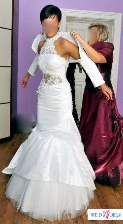 Przepiękna suknia FARAGE, model Sabine, rozm.38/40, wzrost 170-176 cm