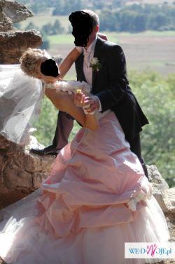 Przepiękna suknia francuskiej firmy Farge