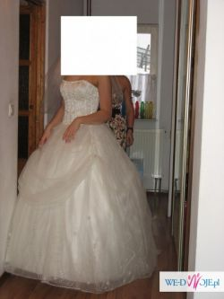 Przepiękna suknia księżniczki Demetrios 2975