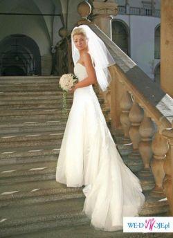 Przepiękna suknia model Kelaz firmy Herm's