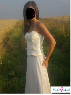 Przepiękna suknia na studniówke i nie tylko dla księżniczki;)))