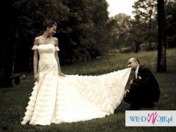 przepiękna suknia projektu giorgio novias