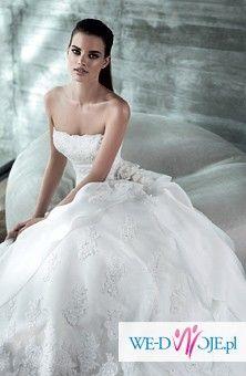 Przepiękna suknia San Patrick model BALTA