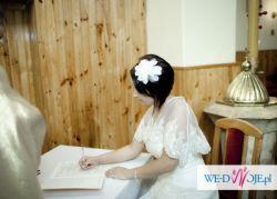 Przepiękna suknia ślubna:)))