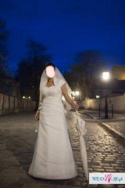 Przepiękna suknia ślubna!