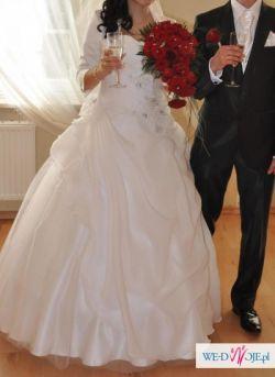 Przepiękna suknia ślubna:)