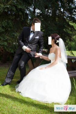 przepiękna suknia ślubna!!