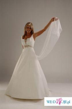 Przepiękna suknia ślubna 38-40/168
